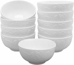 amHomel Small Cereal Bowls-Porcelain Soup Bowls for Side Dis