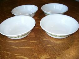 Corelle Green Spring Blossom  Crazy Daisy Coupe Soup Cereal