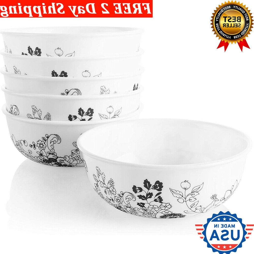 cereal bowls and soup set of 6