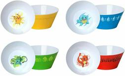 Think Geek Pokemon Cereal Bowl Set of 4 Bowls New In Box Fre