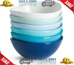 Sweese 102.003 Porcelain Bowls - 18 Ounce for Cereal, Salad,